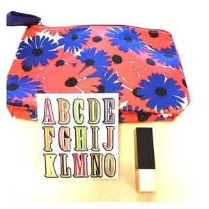 Estee Lauder Other - Estée Lauder new cosmetic bag and lipstick
