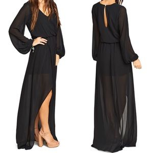 Show Me Your MuMu Dresses & Skirts - Show Me Your MuMu Jocelyn Blouson Maxi gown