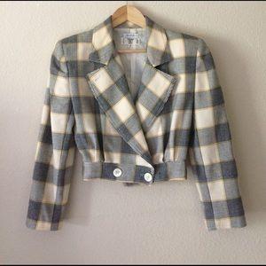 Valentino Jackets & Blazers - VALENTINO Miss V 38 4 buttoned cropped blazer