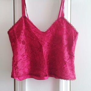 Victoria's Secret Vintage Lace Crop Tank