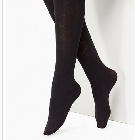 00569abdb15 NWT Kate Spade Quilted Tights