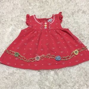 Le Top Other - Le Top Infant Girls Pink Floral Top Size 6 months