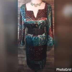 Robbie Bee Dresses & Skirts - NWOT ROBBIE BEE DRESS/BELT/JEWELRY SZ 16W