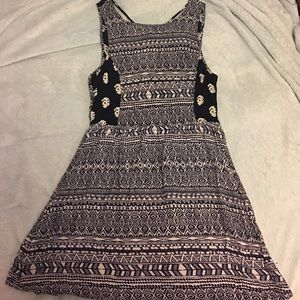 Navy Tribal Summer Dress