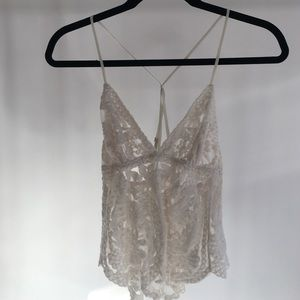 Dorothy embroidered camisole