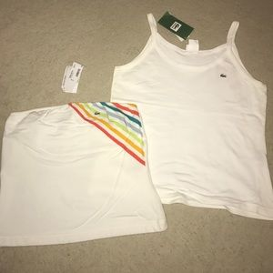 Lacoste Tops - LOT of 2 LACOSTE Shirts Tube Top Tank NWT 46