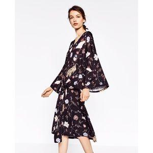 Zara Dresses & Skirts - NWT Zara Japanese Tiger Kimono dress