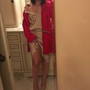 Haider Ackermann Dresses & Skirts - Haiden Ackermann champagne/dusty pink shirt dress