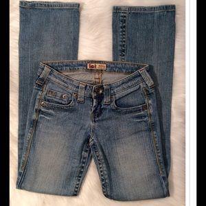 lei Denim - lei Ashley Ultra Low Rise Jeans