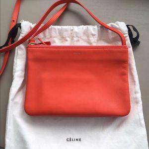 Celine Handbags - Celine Trio Handbag