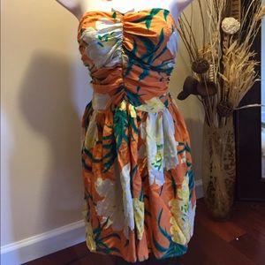 Tucker 100% Silk Summer Dress Sz. S