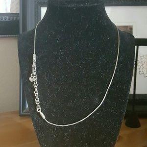 Brighton Jewelry - Sterling Silver Brighton Chain/Necklace