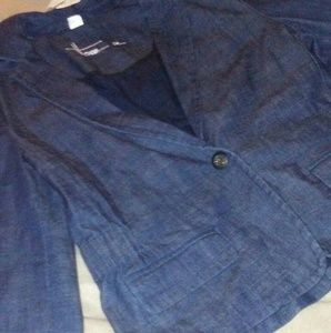 Howe Jackets & Blazers - New! 10 Howe indigo denim jacket