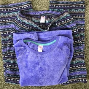 Small woman's pajamas set