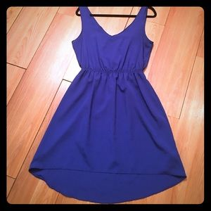 Necessary Clothing Dresses & Skirts - Royal blue high low dress