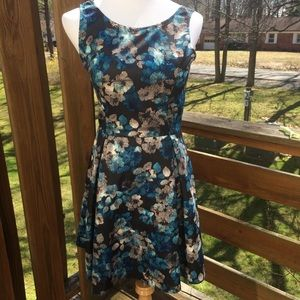 Love...ady Dresses & Skirts - NWT Love...Ady | Floral Pleated Fit & Flare Dress