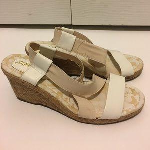 St. John's Bay Shoes - Any 2 ✅for $15 white & cream platforms