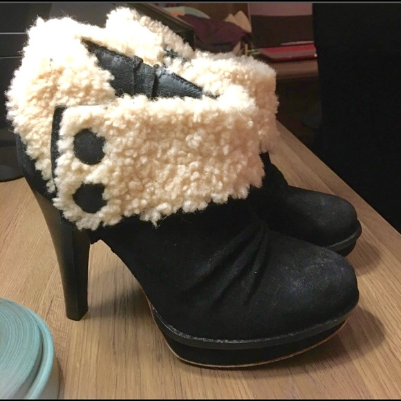 f1a4b3d0065 UGG's Georgette heeled ankle booties