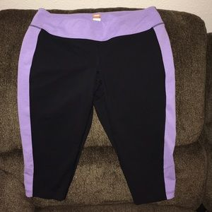 Lucy Pants - Lucy Powermax Color Block Crops Size Large