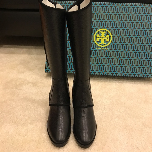 8c69b3c0670 New tory burch milburn riding boot