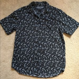 Other - Space Print Men's Button Down