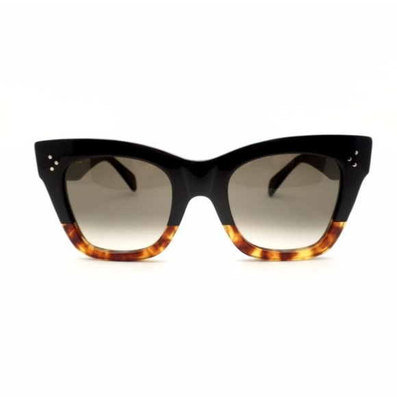1f41c46604 Celine Accessories - Celine CL 41098 F S FU5 Z3 Black Havana Tortoise