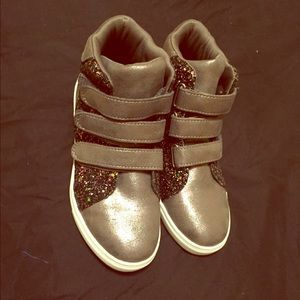 Stevies Other - Girls Glitter Sneakers