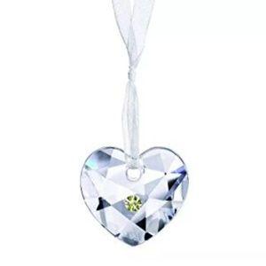 Swarovski MY HEART CRYSTAL 0904169 xmas ornament