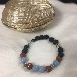 Jewelry - Handmade natural gemstone bracelet