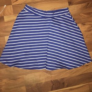 ICON Dresses & Skirts - Blue and white striped skirt