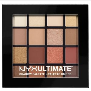 NYX Other - NYX ultimate eyeshadow palette warm neutrals NEW