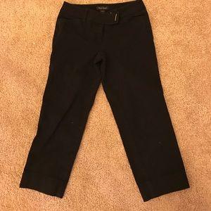 White House Black Market Pants - White House Black Market black capris