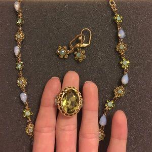 Sorrelli Jewelry - Sorrelli genuine stone and crystal set