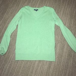 Mint Green Old Navy V-Neck Sweater