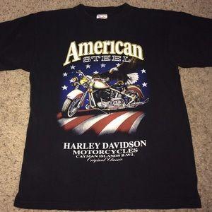 Other - Vintage Harley Davidson Cayman Islands tee shirt