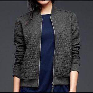 GAP Jackets & Blazers - GAP NWT Quilted Knit Bomber Jacket