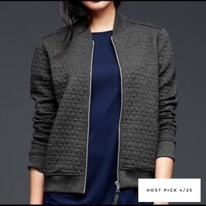 GAP Jackets & Blazers - 🎉Final Price🎉GAP NWT Quilted Knit Bomber Jacket