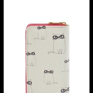 Handbags - ✳️ Adorable Kitty Cat in Glasses Wallet.