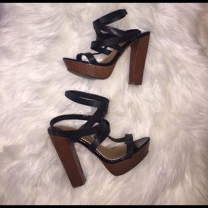 Badgley Mischka Shoes - Mark  James Badgley Mischka Strappy heels