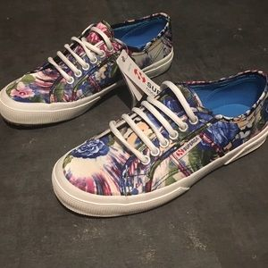 Superga Shoes - Superga sneakers beautiful floral