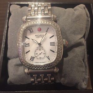 Michele Accessories - Michele caber isle diamond watch