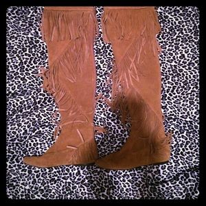 "Sam Edelman Shoes - Sam Edelman ""URI"" over the knee boots!"