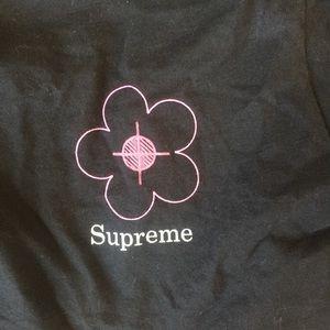 supreme 'been hit' longsleeve tee SS17