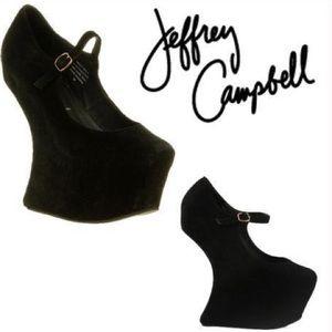 Jeffrey Campbell Foxy Nite Heel Less Platform