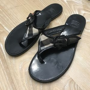 Burberry Shoes - Burberry sandals size 7.5.