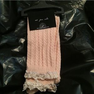 Urban Outfitters Accessories - 🔴1 DAY SALE NWT knit knee high sock crochet FINAL