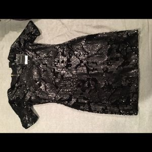 Top shop sequence/velour dresss