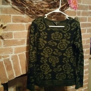 Jack by BB Dakota Sweaters - Black & Gold Sweater