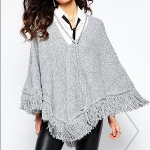 Mango Sweater Cape
