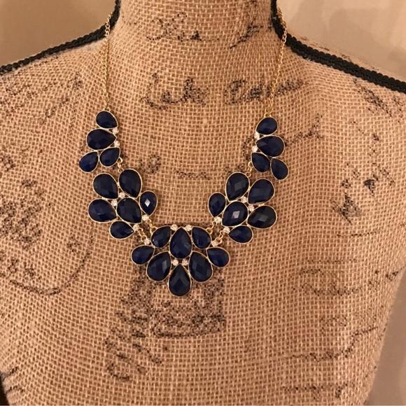 1df7e84cc von maur Jewelry | Royal Blue Statement Necklace | Poshmark
